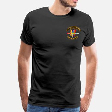 Vietnam War US Army - Vietnam w SVC Ribbons - Men's Premium T-Shirt