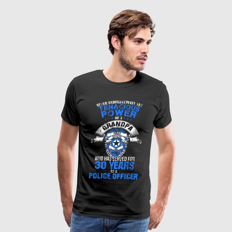Grandpa Police Officer - Men's Premium T-Shirt