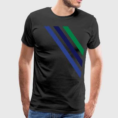 diagonal - Men's Premium T-Shirt
