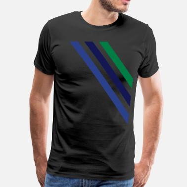 Diagonal diagonal - Men's Premium T-Shirt
