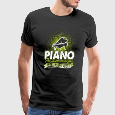 Piano Tee Shirt - Men's Premium T-Shirt
