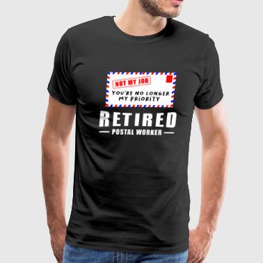 Retirement Post Office Retired Postal Worker Gift - Men's Premium T-Shirt