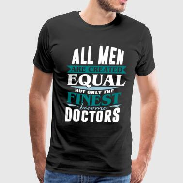 doctor hospital medicine ambulance nurse job - Men's Premium T-Shirt