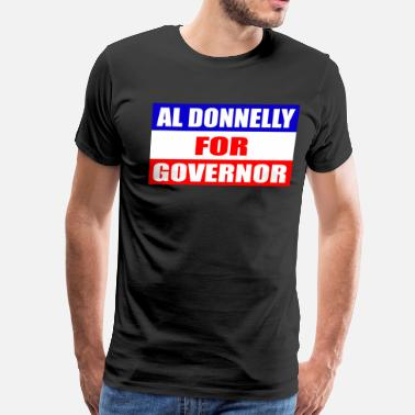 David Spade Al Donnelly For Governor - Chris Farley       - Men's Premium T-Shirt