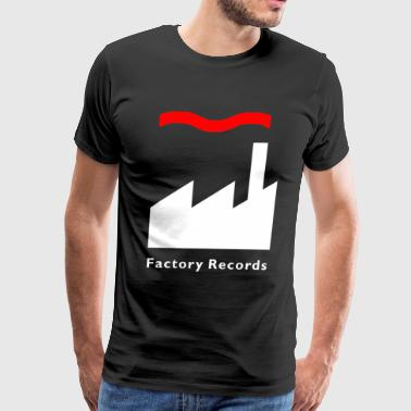 Factory Records Retro Record Label Mens Music - Men's Premium T-Shirt
