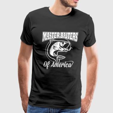 MASTER BAITER OF AMERICA - Men's Premium T-Shirt