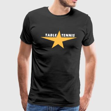 Table Tennis - Men's Premium T-Shirt