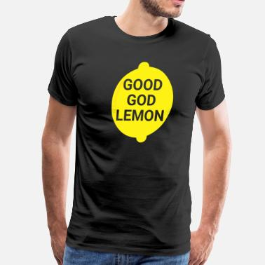Tina Fey Good God Lemon - Men's Premium T-Shirt