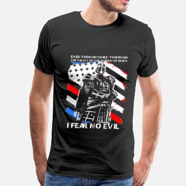 Orders Of Chivalry Cusader - I fear no evil t-shirt for american - Men's Premium T-Shirt