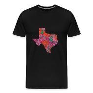 Texas State Is My Home Longhorn Design 13   Menu0026#39;s Premium T