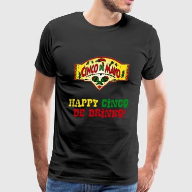 Queen Born In April Cinco De Mayo Holiday Mexican Drinko2 - Men's Premium T-Shirt