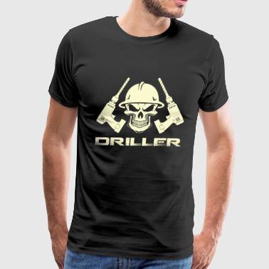 Drill Instructor Driller - Awesome drill t-shirt for supporter - Men's Premium T-Shirt