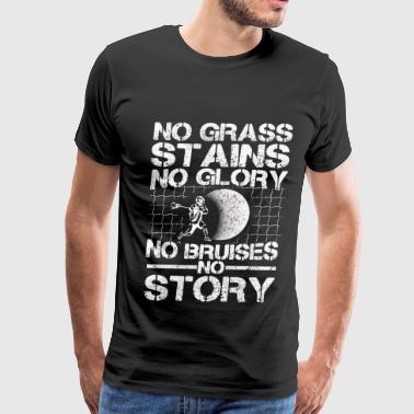 Bruises Hockey - No grass stains, no glory, no bruises - Men's Premium T-Shirt