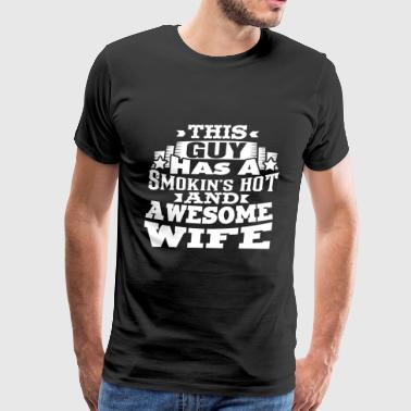 Awsome Wife - Men's Premium T-Shirt