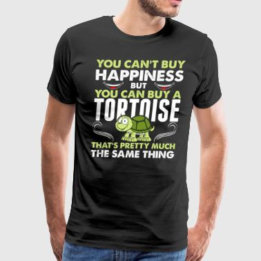 You Cant Buy Happiness But You Can Buy A Tortoise - Men's Premium T-Shirt