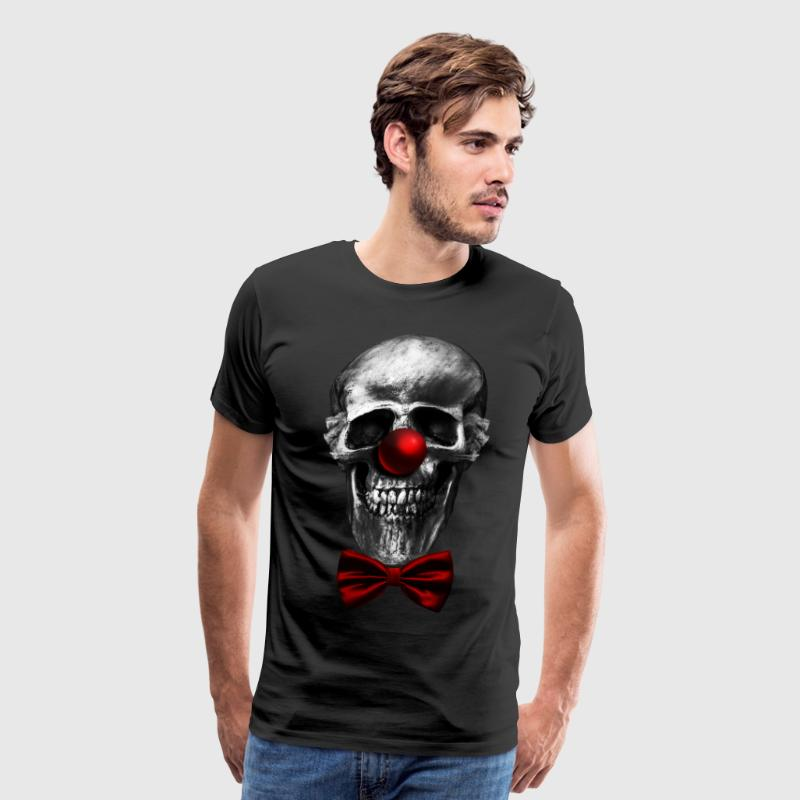skull clown - Men's Premium T-Shirt