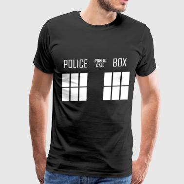 Police Box Dr Who - Men's Premium T-Shirt
