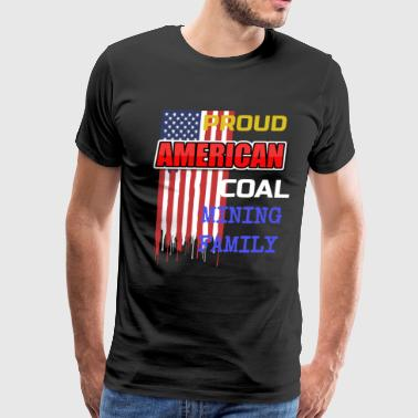 COAL MINING FAMILY - Men's Premium T-Shirt