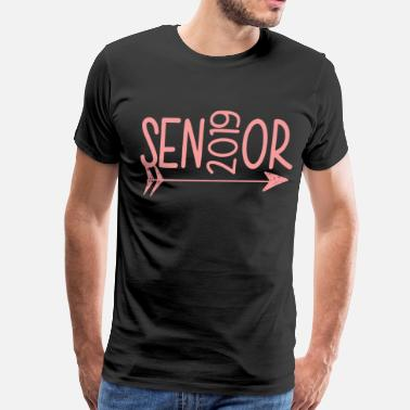 Class Senior Class Of 2019 Sen2019Or Hanes Tagless birth - Men's Premium T-Shirt
