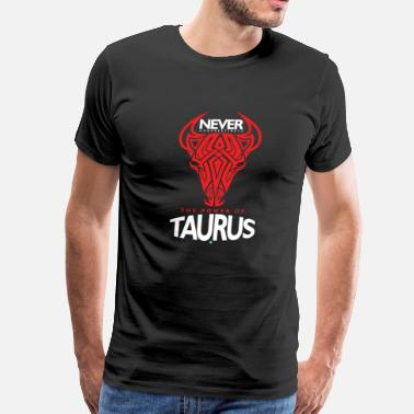 Born On 11 June never underestimate the power of a taurus gift - Men's Premium T-Shirt