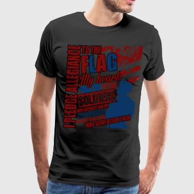 Allegiance I Pledge Allegiance To The Flag T Shirt - Men's Premium T-Shirt