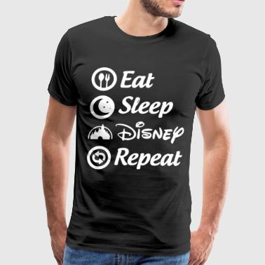 eat sleep disney repeat t-shirts - Men's Premium T-Shirt