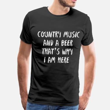 Concert COUNTRY MUSIC BEER - USA - CONCERT - Men's Premium T-Shirt
