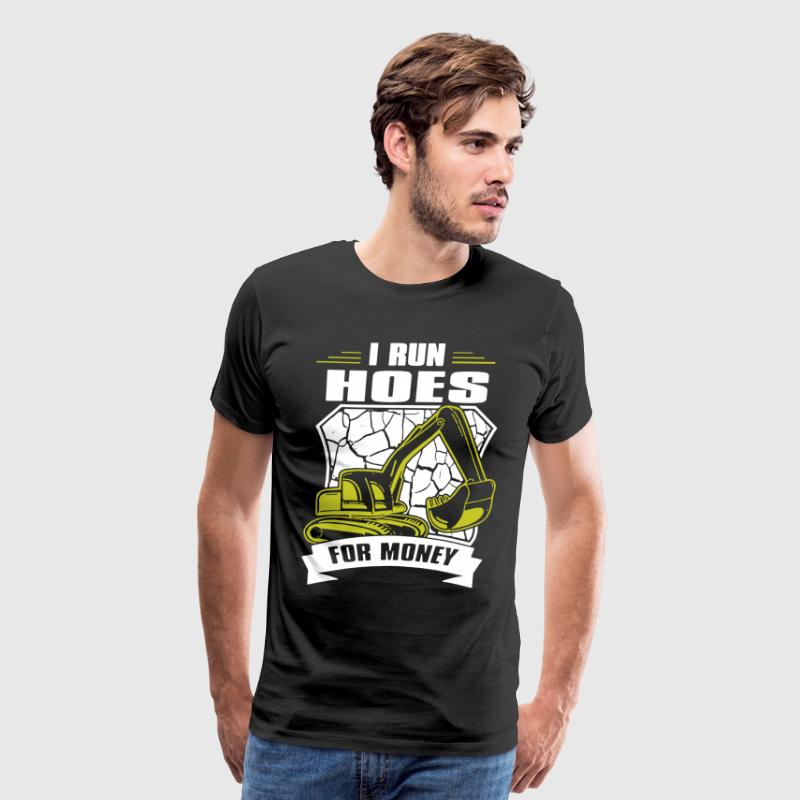 I RUN HOES FOR MONEY - Men's Premium T-Shirt