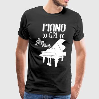 Piano Girl Shirt - Men's Premium T-Shirt