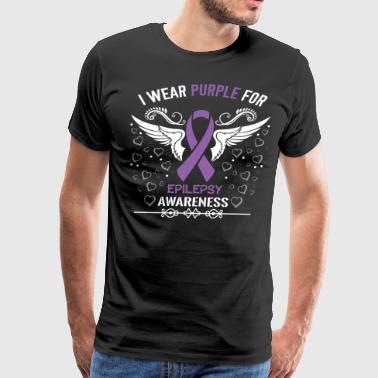 Epilepsy Awareness - Men's Premium T-Shirt