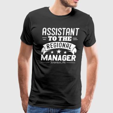 Assistant To The Regional Manager Funny - Men's Premium T-Shirt