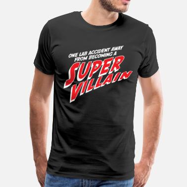 Comic Books Super Villain - Men's Premium T-Shirt
