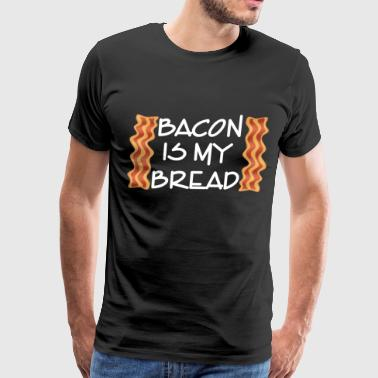 Low carb bacon bread ketogenic carbohydrates keto - Men's Premium T-Shirt