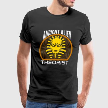 Ancient Aliens Funny Ancient Alien Theorist Shirt - Men's Premium T-Shirt