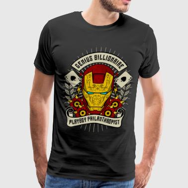 Philanthropist Genius Billionaire - Men's Premium T-Shirt
