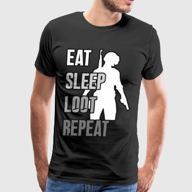 Playerunknowns Battlegrounds - LOOT - PUBG - Men's Premium T-Shirt