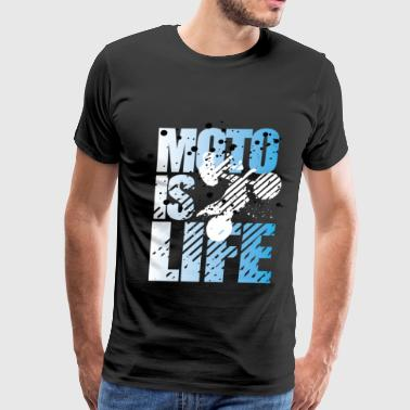 Moto Is Life - Men's Premium T-Shirt