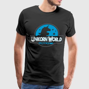 Unicorn world shirt - Men's Premium T-Shirt