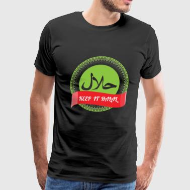 Keep it Halal - Men's Premium T-Shirt