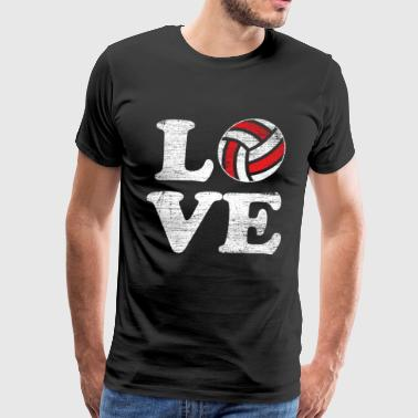 Love volleyball - Men's Premium T-Shirt