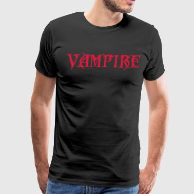 Undead Vampire - The Undead - Creature of the Night - Men's Premium T-Shirt