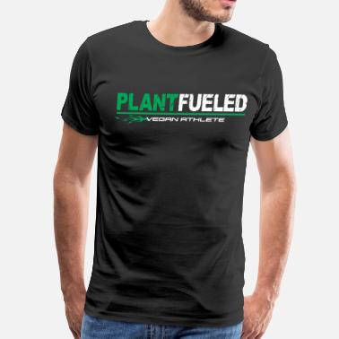 Plant Vegan Athlete Plant Based - Men's Premium T-Shirt