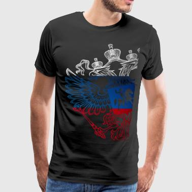 Russian Eagle - Men's Premium T-Shirt