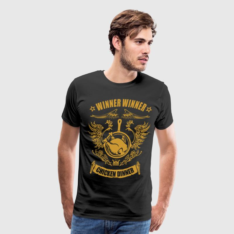chicken dinner - Men's Premium T-Shirt