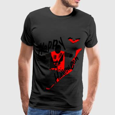 happy halloween horror art - Men's Premium T-Shirt