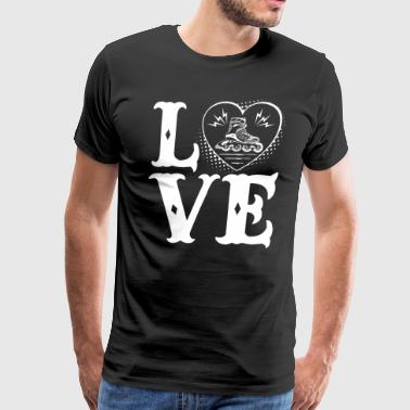 Love Roller Derby Shirt - Men's Premium T-Shirt
