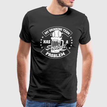 MY DRINKING TEAM - Men's Premium T-Shirt