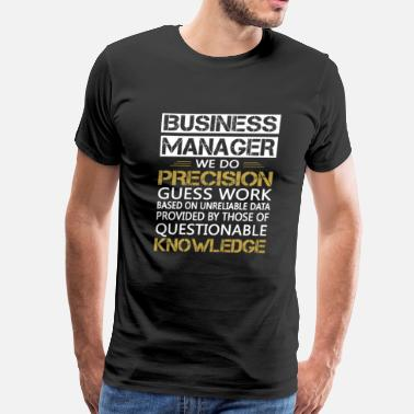 Busy BUSINESS MANAGER - Men's Premium T-Shirt