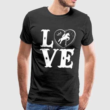 Love Horseback Riding Shirt - Men's Premium T-Shirt