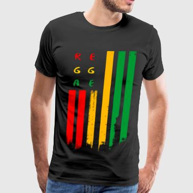 Flag Dub reggae_flag - Men's Premium T-Shirt